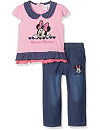 Disney Baby Girls' Minnie Mouse Small Hearts Clothing Set