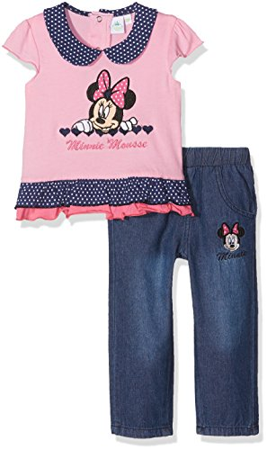Disney Minnie Mouse Small Hearts Conjunto de Ropa para Bebés
