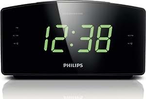 Philips AJ3400/37 Clock Radio (Black)