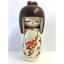 Spring Dream–Bambola tradizionale giapponese Kokeshi (legno)