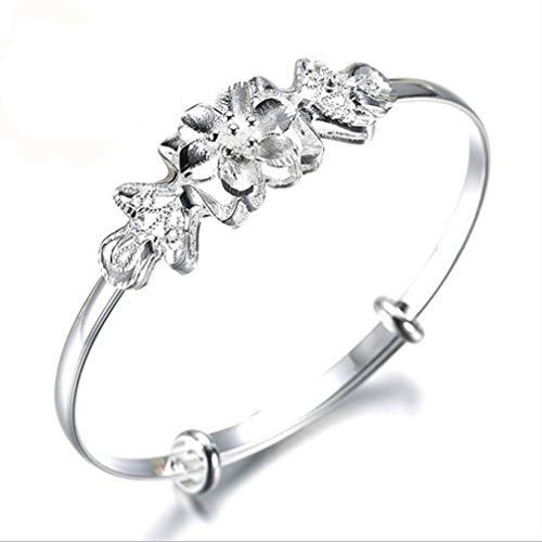 LnLyin Edelstahl Faux Diamond Ring Einfache Mode CZ Eheringe Ring für Männer, 51,9 mm (Cz-ehering-sets Für Sie)