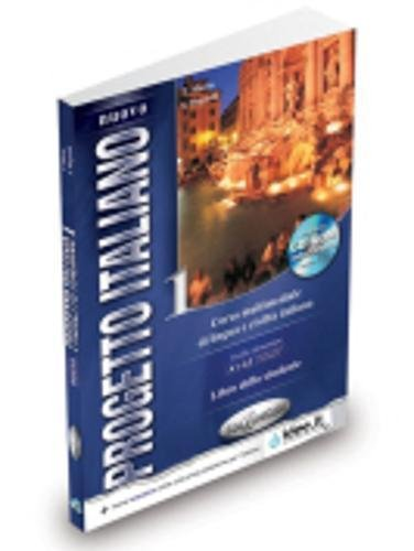 Nuovo progetto italiano. Libro dello studente. Con CD-ROM: Nouvo Progetto 1 libro dello studente + CD-ROM