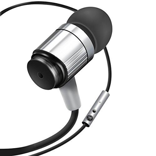 GOgroove In-Ear Kopfhörer mit Freisprechfunktion für Samsung Galaxy J5 A5 S7 Huawei P8 P9 lite Google Nexus 5X Samsung Galaxy Xcover iPhone 7 6 5 usw