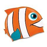 DONKEY Products Fischköpfe Clowny, Badekappe, Badehaube, Schwimmhaube, Bademütze, Clownfisch, 401301