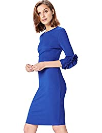 FIND Women's Regular Waist and Crew Neck Dress