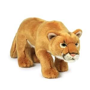 Mimex WWF14784 - Plüsch, Puma, 32 cm: Amazon.de: Spielzeug