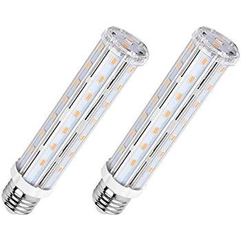 SanGlory E27 15W Mazorca Bombillas LED de Bajo Consumo,Blanco Cálido 2700K LED Luz de