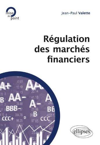 Rgulation des Marchs Financiers