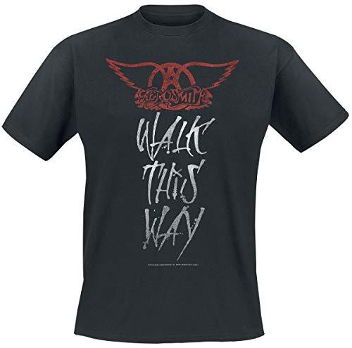 Aerosmith Walk This Way Camiseta