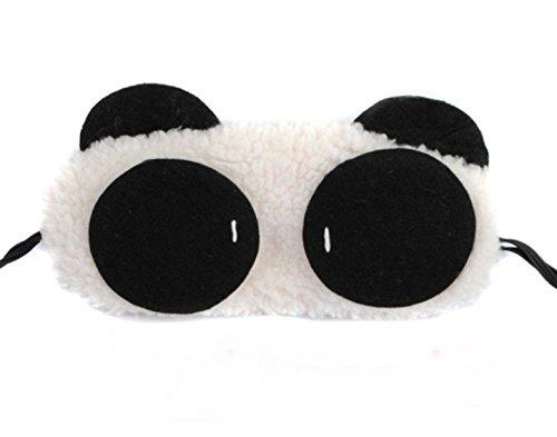 Milopon Schlafmaske Augenmaske Schlafbrille Lichtdicht Karikatur Maske Mask mit Gummiband Geruchneutral Färbt nicht ab Lichtdicht für Allergiker Hautfreundlich Augenmaske