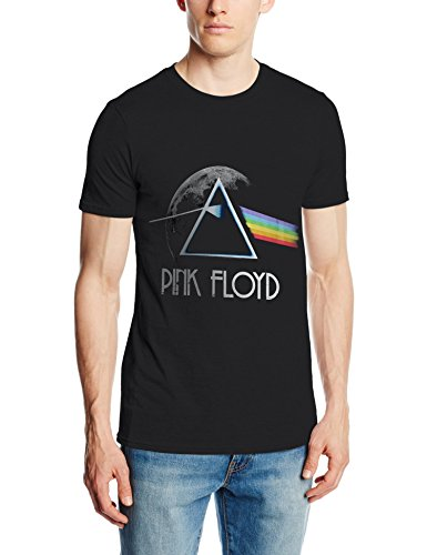 Pink Floyd, T-Shirt Uomo, Nero, Medium