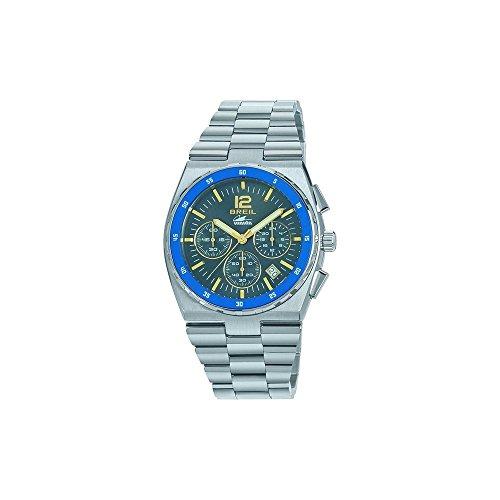 Breil orologio cronografo quarzo uomo con cinturino in acciaio inox tw1641