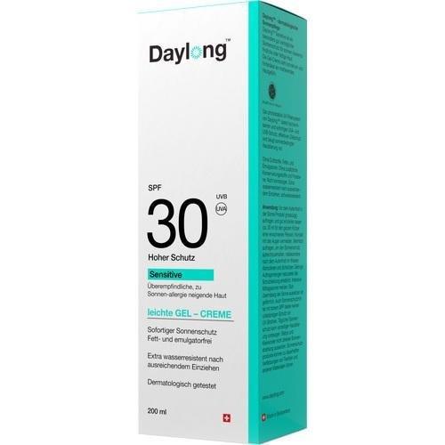 Daylong Sensitive leichte Gel-Creme SPF 30, 200 ml