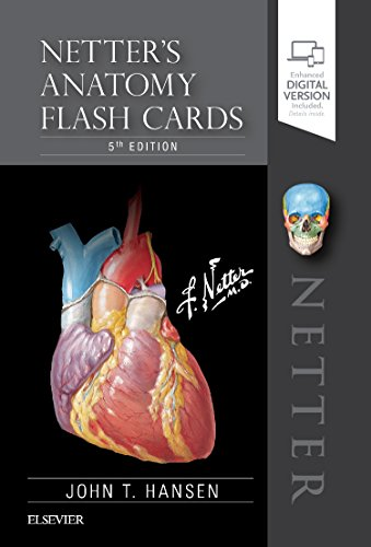 Netter's Anatomy Flash Cards, 5e (Netter Basic Science)