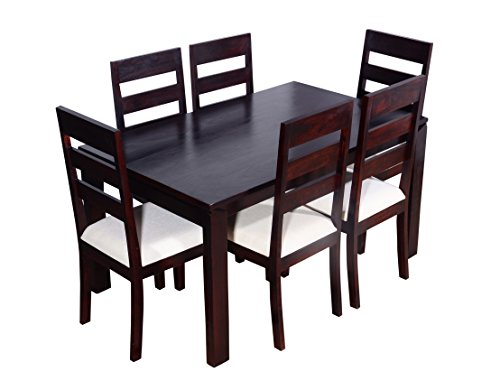 Ringabell Desire Ring105001116 Six Seater Dining Table Set (Brown)