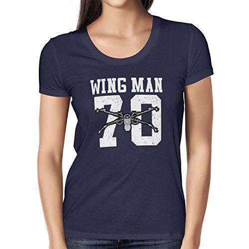 TEXLAB - Wing Man 70 - Damen T-Shirt Navy