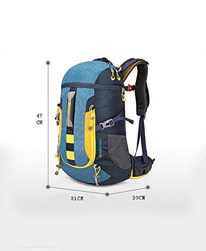 zaino trekking All'aperto alpinismo zaino 30L Outdoor Leisure Escursionismo Bag (47 * 31 * 20cm) Zaini da escursionismo ( Colore : C , dimensioni : 30L-47*31*20cm ) B