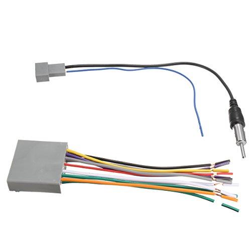 Forspero Car Stereo Radio Player Wire Harness DVD Antenna für Honda Odyssey/Civic CR-V Honda Odyssey Stereo