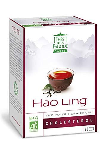 Thés de la Pagode - Organic Hao Ling tea - Practical and economical format - 90 tea bags - Regulates cholesterol