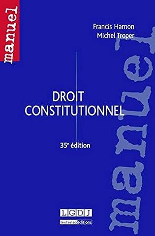 Droit constitutionnel, 35ème Ed