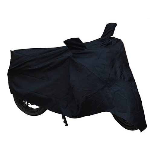 Autofier Premium Quality Bike Body Cover Black For Royal Enfield Bullet 500  available at amazon for Rs.345