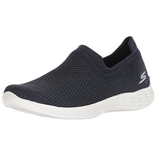 Skechers Damen You Define-Allegra Slip On Sneaker, Blau (Navy NVY), 37 EU