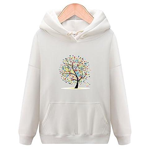 Xuanku Plus Épais Velours Sweater, Même Cap Chers Timbres Vrac Enduire L'Automne Et L'Hiver ,Xl, Blanc