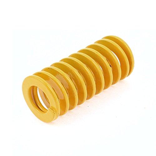 Gelb Licht Laden Drücken Kompression sterben Spring 25mm x 12,5mm x 55mm