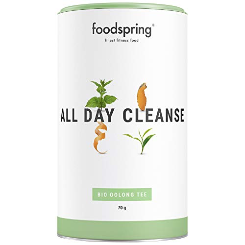 foodspring Functional Tea All Day Cleanse, 70g, Bio Oolong Tee für den ganzen Tag