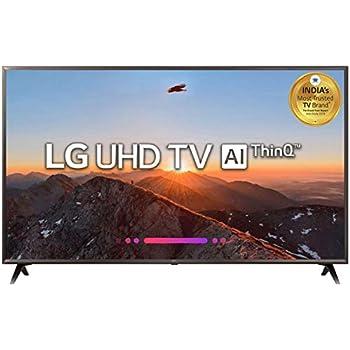 LG 139 cm (55 Inches) 4K UHD LED Smart TV 55UK6360PTE (Black) (2018 model)
