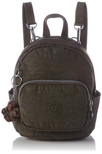 Imagen de kipling  mini backpack,  mujer, green cactus khaki , 19x21.5x17 cm w x h l