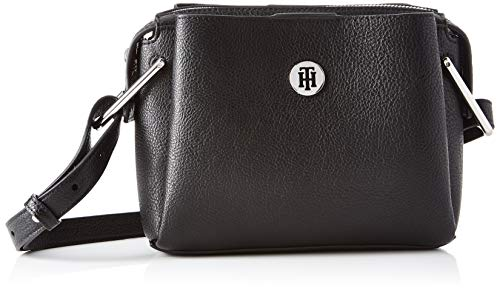 Tommy Hilfiger Damen Th Core Crossover Business Tasche, Schwarz (Black), 1x1x1 cm