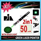 50mW GREEN LASER POINTER WITH DISCO LIGH...