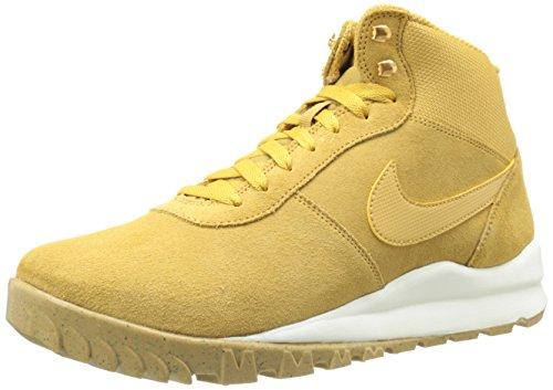 Nike Hoodland Suede Herren Desert Boots, Mehrfarbig (Marrón / Blanco Hystck / Sl-gm Lght Brwn-mtllc G), 44 EU