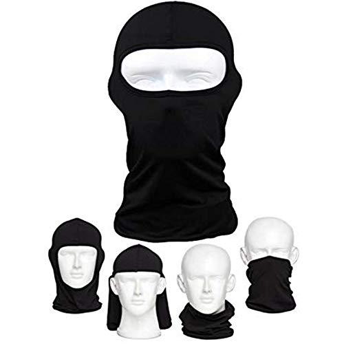 Amasawa Sturmhaube Fahrrad-Premium-Gesichtsmaske für den Außenreit Tactics Angeln Staub Zum Beweis Kalte Motorrad Kopfbedeckungen Maske-Ski-Maske -