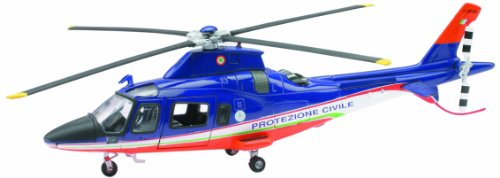 New Ray 25543-Sky Pilot Agustawestland Aw109Katastrophenschutz, Maßstab 1: 43, Die Cast