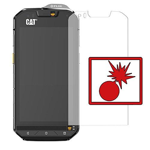 2 x Slabo Protector de pantalla blindado para Cat S60