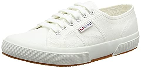 Superga 2750 COTU CLASSIC, Unisex-Erwachsene Sneaker, Weiß, 39