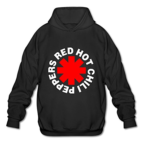 LLJY Red Hot Chili Peppers Logo Men's Long Sleeve Hooded Sweatshirt / Hoodie