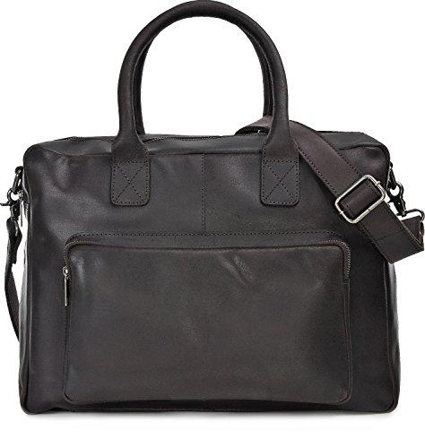 Urban Forest, Unisex, Borse Messenger, effetto vintage, Business per Bags, Borsa, Borse per portatili, Borse, tracolla ventiquattrore, DIN A4, Marrone, 39x 30x 13cm
