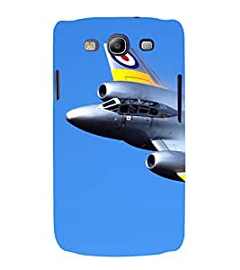 printtech Sky Airplane Jet Back Case Cover for Samsung Galaxy S3 / Samsung Galaxy S3 i9300