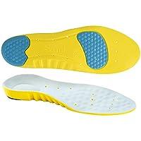 SOUMIT SPORT Schuheinlagen   Anti-Schock PU Schuhe Pad, Original Beruf Fußbett mit Silikon-Gel Fersenschutz (Unisex... preisvergleich bei billige-tabletten.eu