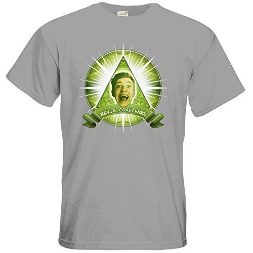 getshirts - Heidelwurst - T-Shirt - Illumicurry pacific grey