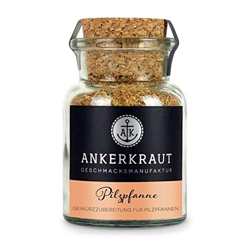 Ankerkraut Pilzpfanne, 75g im Korkenglas, Gewürzzubereitung für Pilze