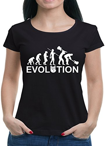 TLM Evolution Heavy Metal Trash T-Shirt Damen L Schwarz