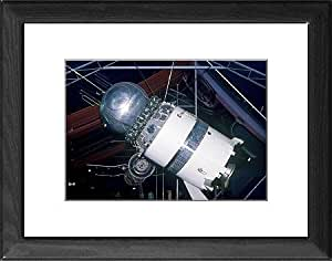 Tableau d'affiche encadrée Vostok-soviétique engins spatiaux