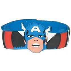 Pulsera nueva - - Capitán América de goma maravilla troquelado Anime wb170806mvl