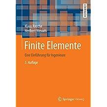 Finite Elemente: Eine Einführung für Ingenieure