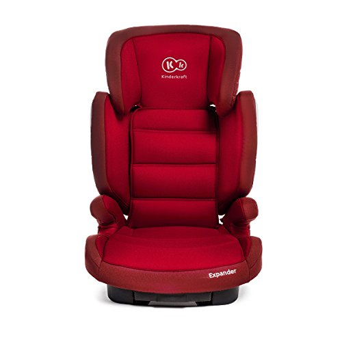 Siège auto EXPANDER pour enfant, groupes 2 3, avec système ISOFIX, 2 coloris au choix, capacité de charge 15-36 kg - rouge