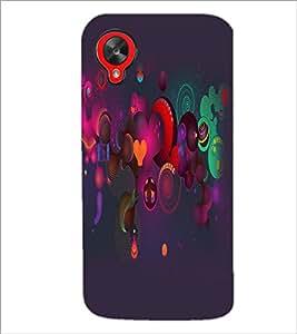 PrintDhaba Pattern D-2159 Back Case Cover for LG GOOGLE NEXUS 5 (Multi-Coloured)